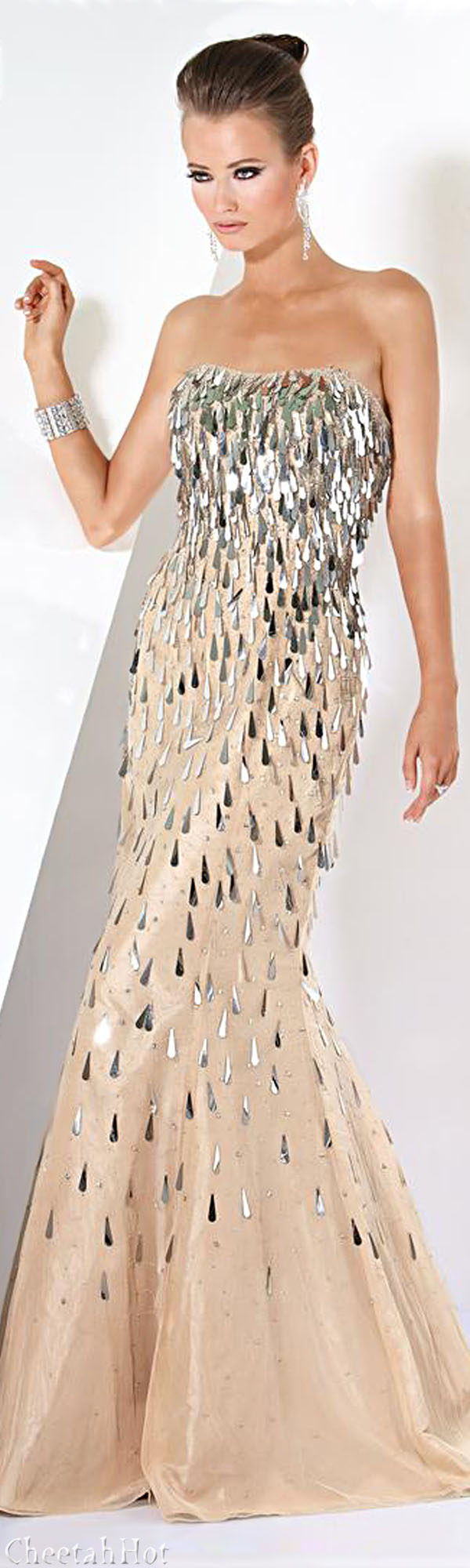 Jovani marvelous metallicus pinterest elegant gown gowns and
