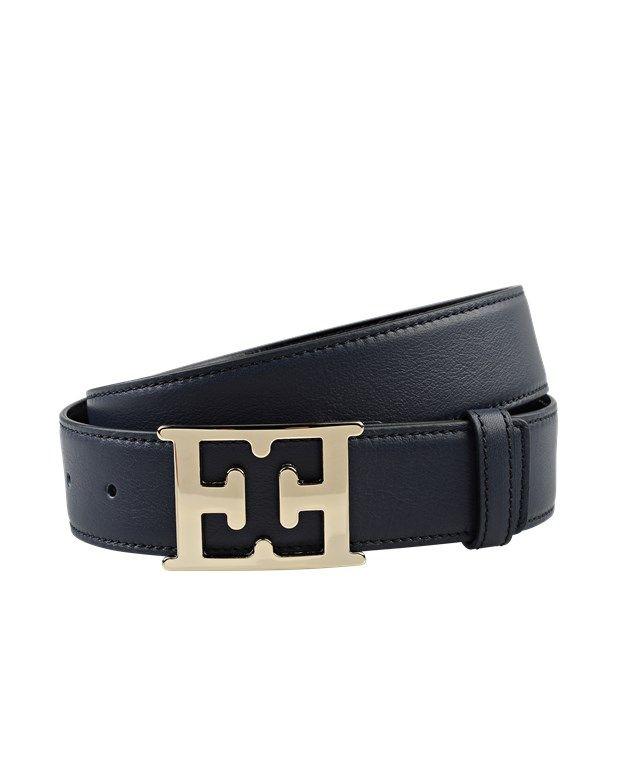 Leather Belt by Escada