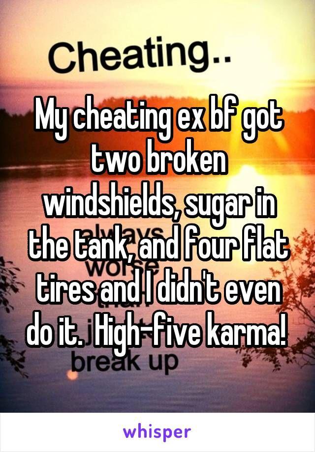cheating ex