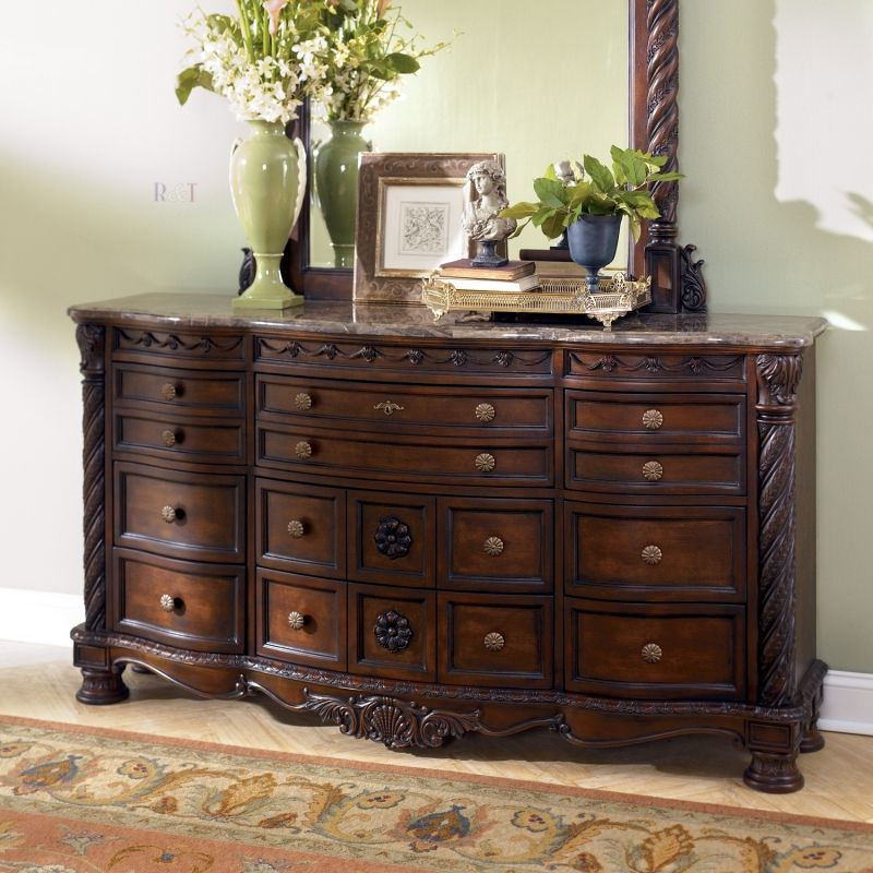 North Shore Dresser Could Be Used As Side Table In Dining Room Minus The Mirror
