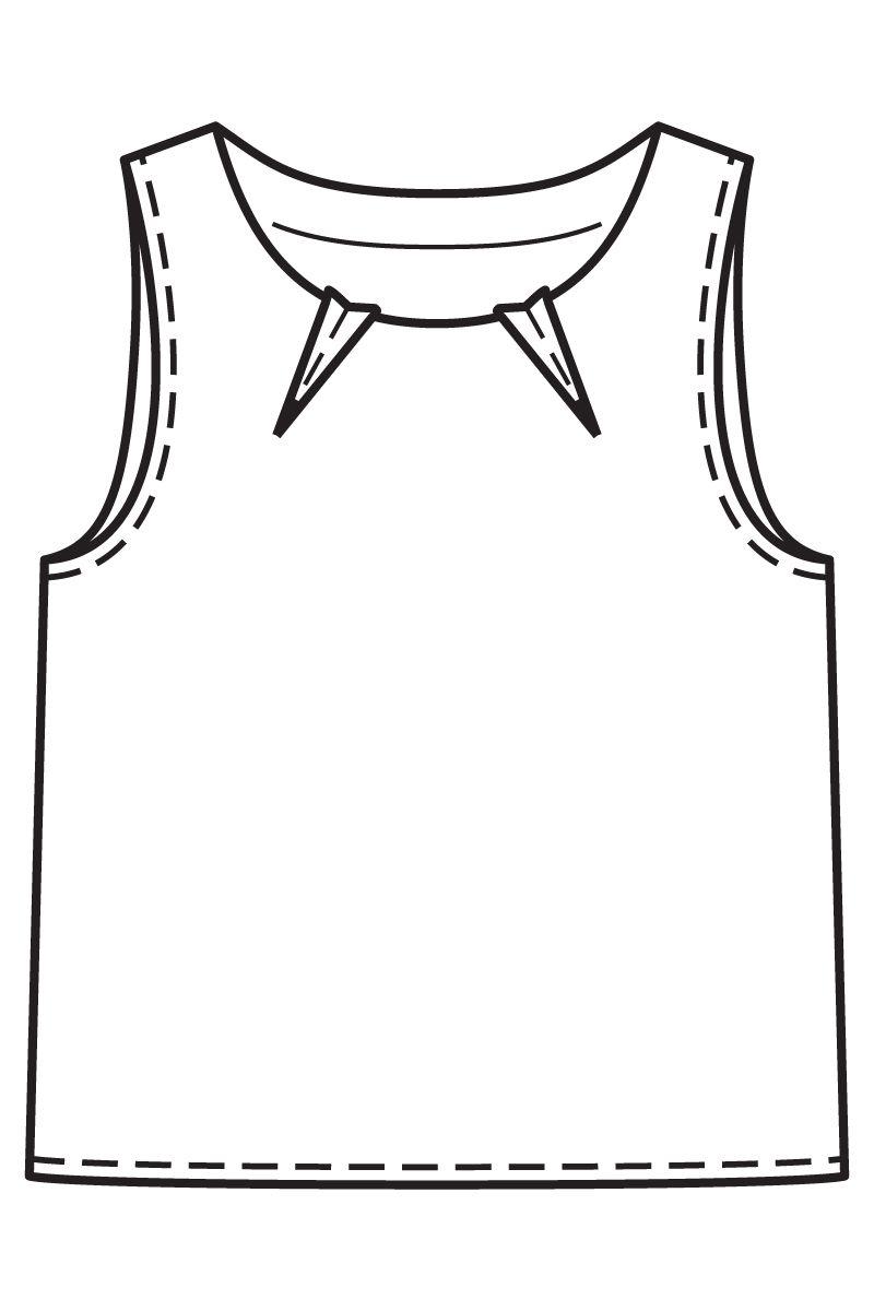 Выкройка горловины анжелика фото 706