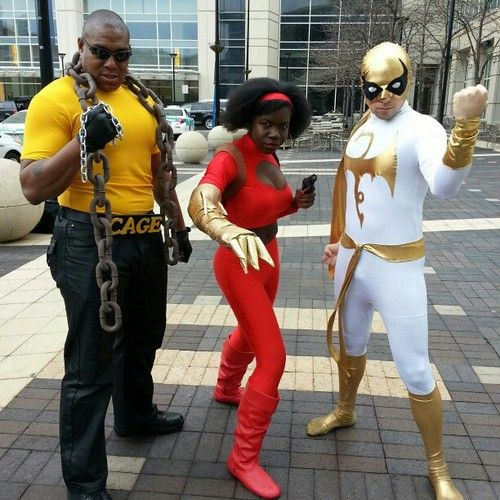 Heroes For Hire Power Man Misty Knight And Iron Fist Costumes