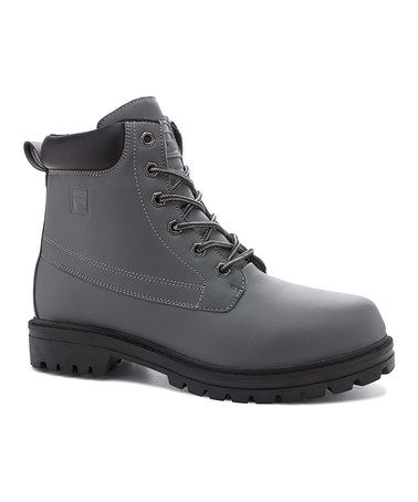 Another great find on #zulily! Castle Rock & Black Edgewater 12 Hiking Boot #zulilyfinds