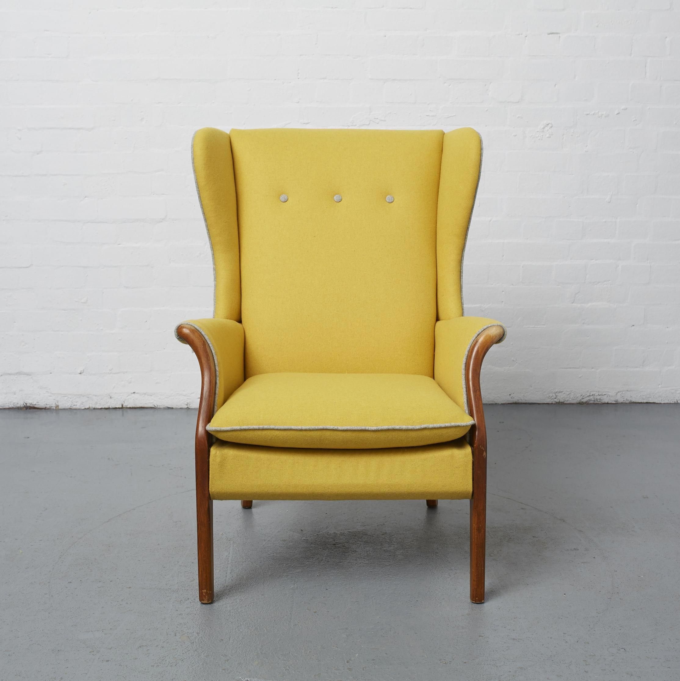 Hermanmillereameschair Wingbackchair With Images Upholstered