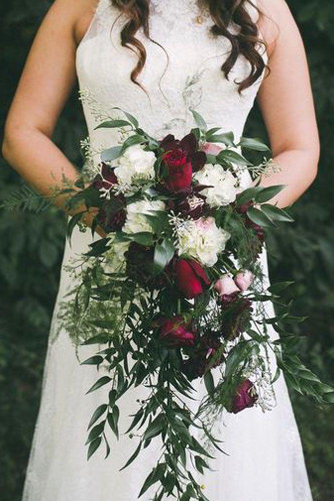 45 Gorgeous Cascading Wedding Bouquets Cascading Wedding