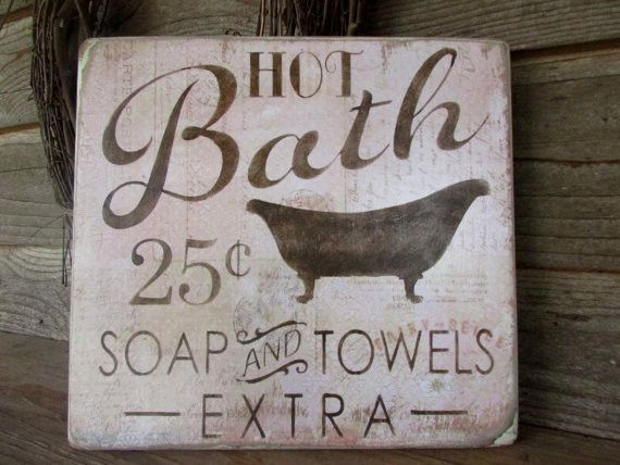 Signs Decor Amazing Bathroom Décor Wood Signs Country Home Décor Home Décor Rustic 2018