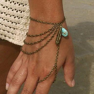 Charmes pour Bracelets/Bracelets Bagues ( Alliage/Résine ) Soirée/Quotidien/Casual – EUR € 2.99