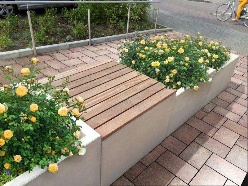 blumenk bel aus beton 25 spektakul re dekoideen f r die terrasse vorgarten anlegen