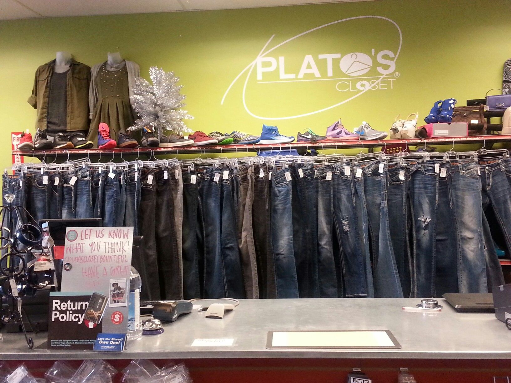 Fashion corner bountiful utah - Huge Selection Of Rock Revival Jeans Less Than Retail Right Now At Plato S Closet Bountiful Men S Sizes 42 All Women S Sizes