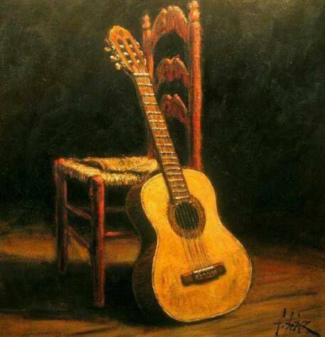 Flamenco Guitar Pic