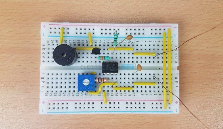 Schema Elettrico Per Metal Detector : Metal detector circuit diagram and working electronic circuit