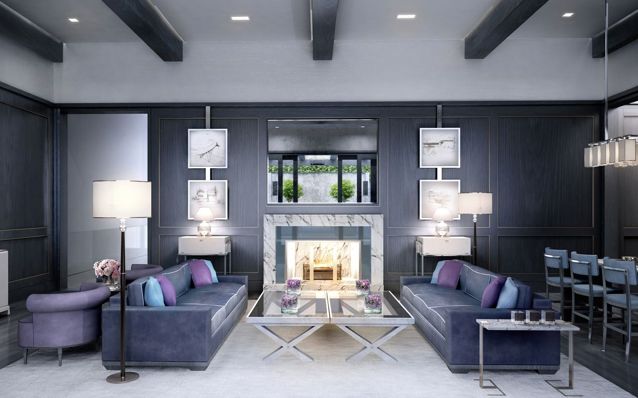 Impeccable Condo, Manhattan Style: The Charles by David Collins Studio