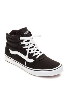 VANS® Milton High Top Sneakers | Black