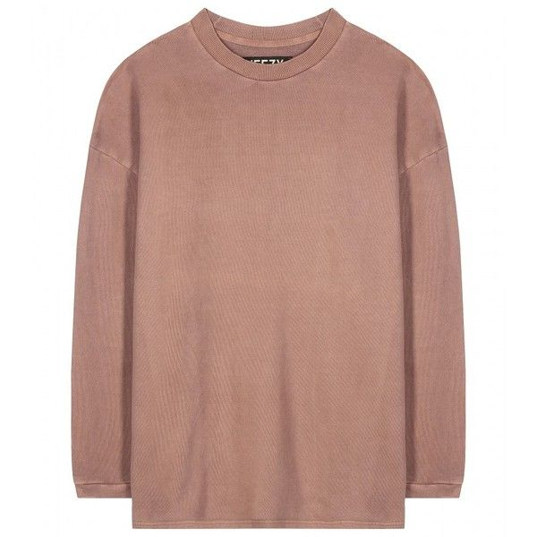 Yeezy Cotton Sweater (Season 1) ($405) ❤ liked on Polyvore ...