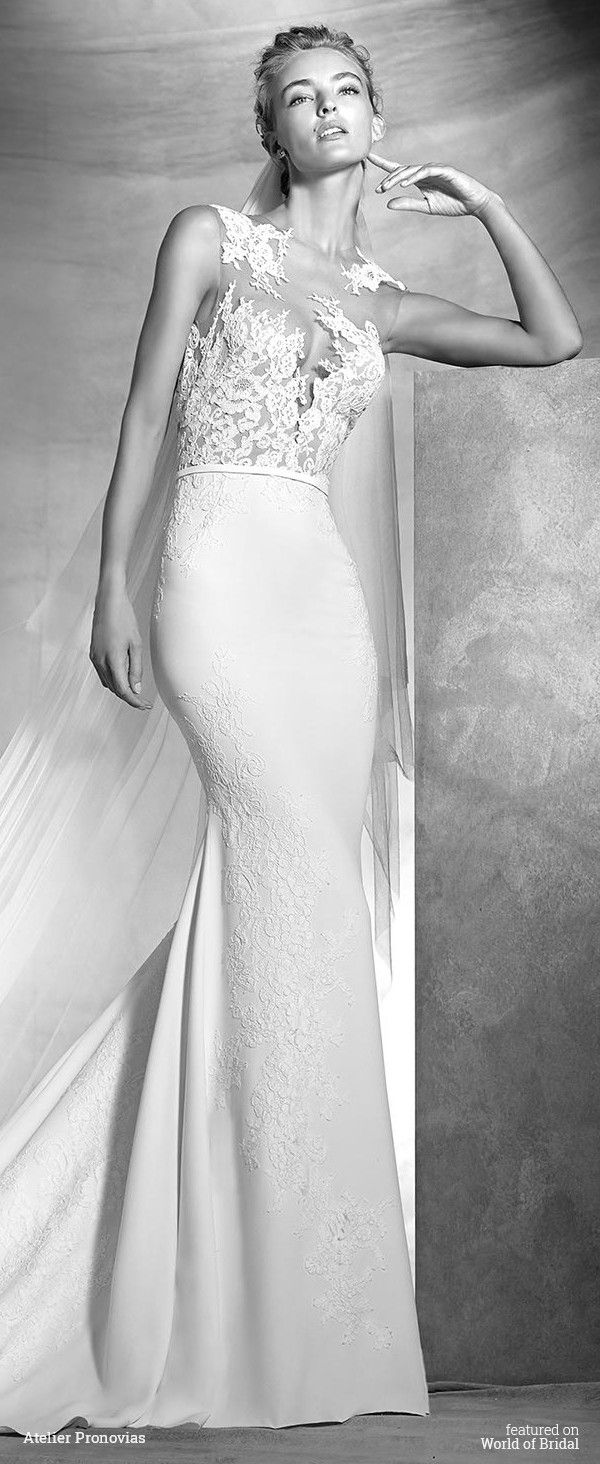 e761a798b89 Atelier Pronovias 2016 Wedding Dresses