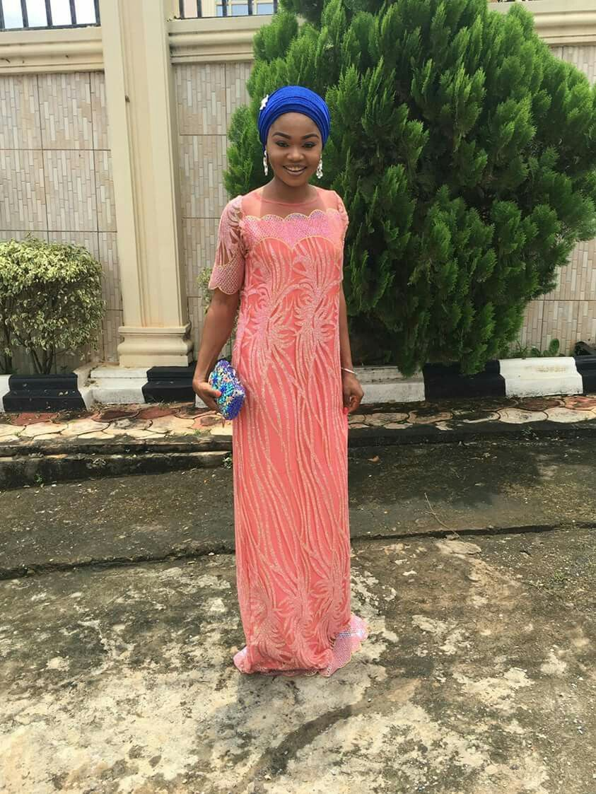 Beautiful Nigerian girl #rinesbeauty Lace material. My sister #obianujuarinze. African style. Nigerian swag. Wedding Occasions