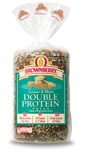 Brownberry® Grains & More Sliced Breads   Double Protein Sliced Bread