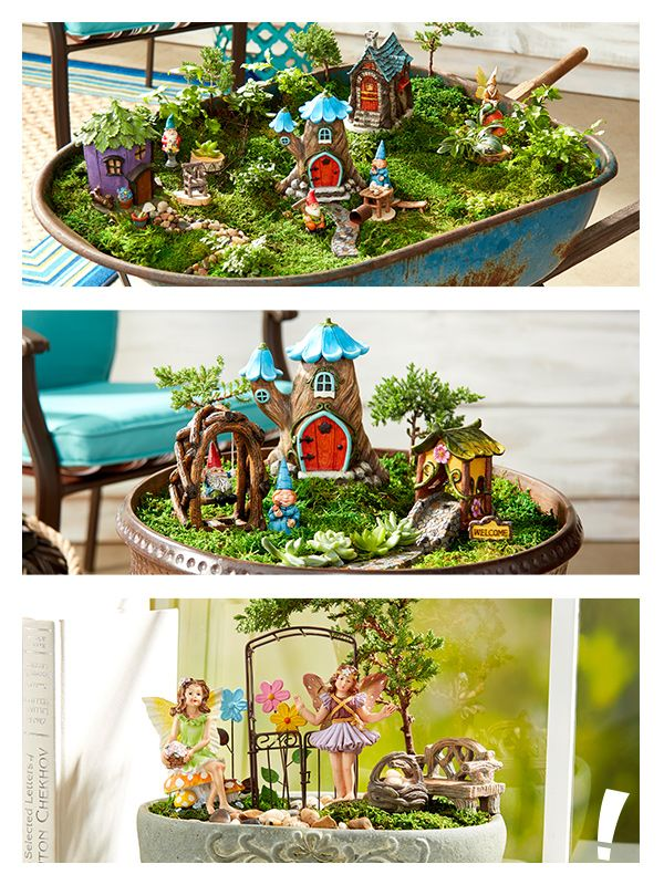 Which Fairy Garden Speaks To You Create Your Own Magical With The Perfect Pieces At Lots