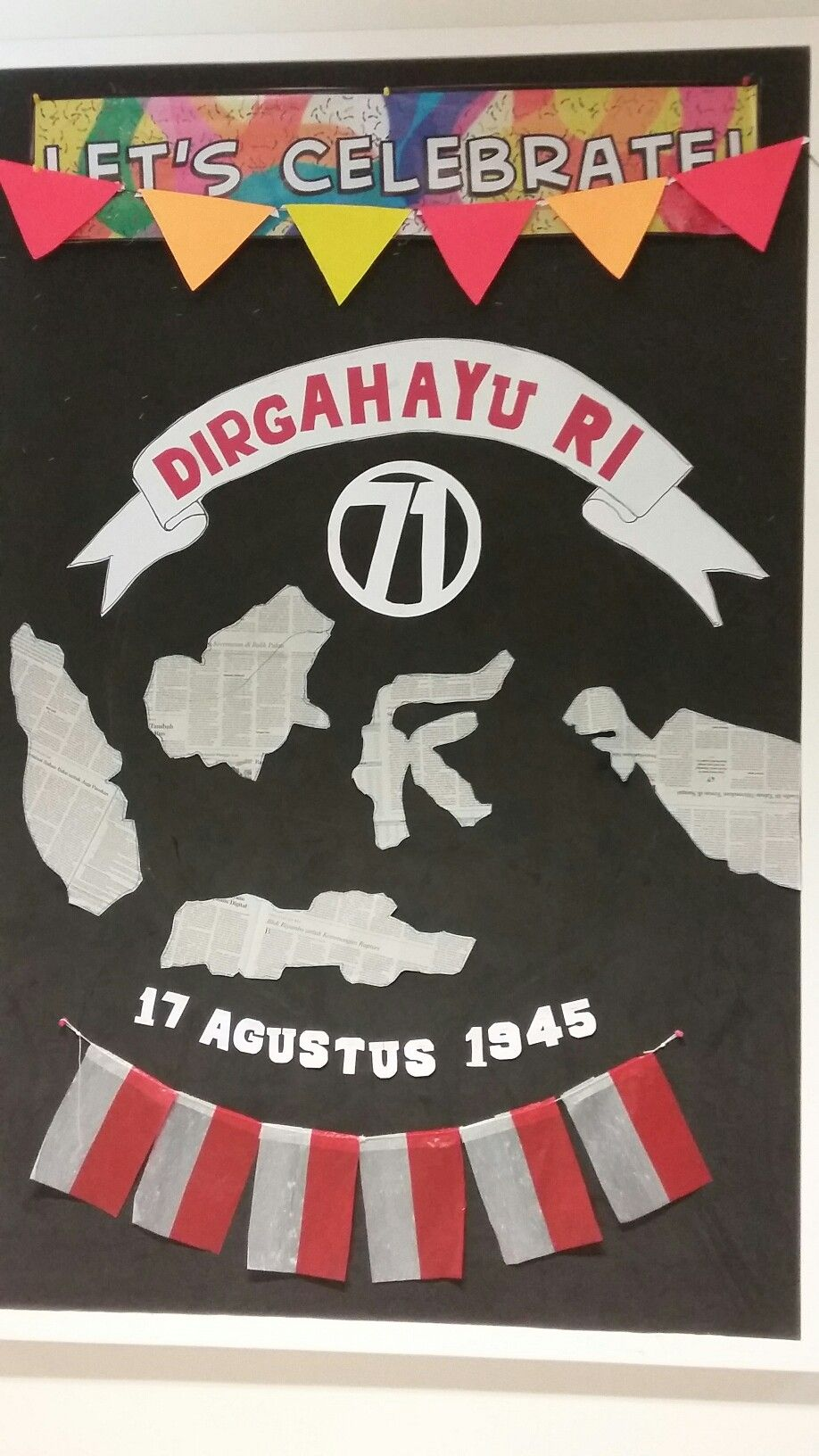 School Display About Independence Day Hari Merdeka 17 Agustus