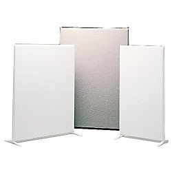 basyx by HON Vers Partitions Gray Fabric 72 H x 48 W by Office Depot
