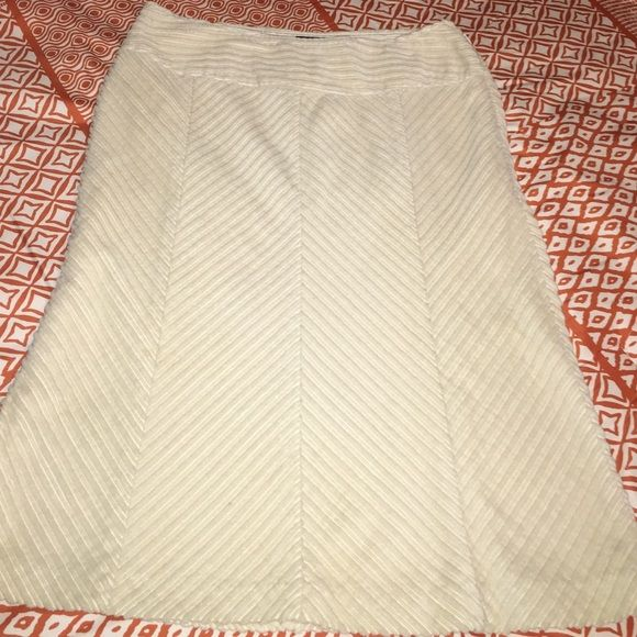 Cream corduroy skirt from the Limited/C Like new Limited Skirts A-Line or Full