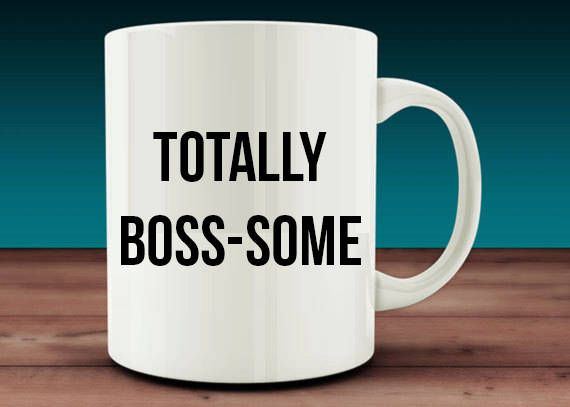 Totally Boss Awesome Some Bosses Day Gift