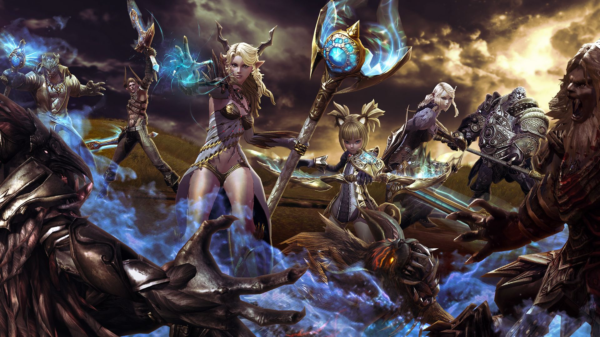 Tera Online MMO RPG Review (detailed) http//www