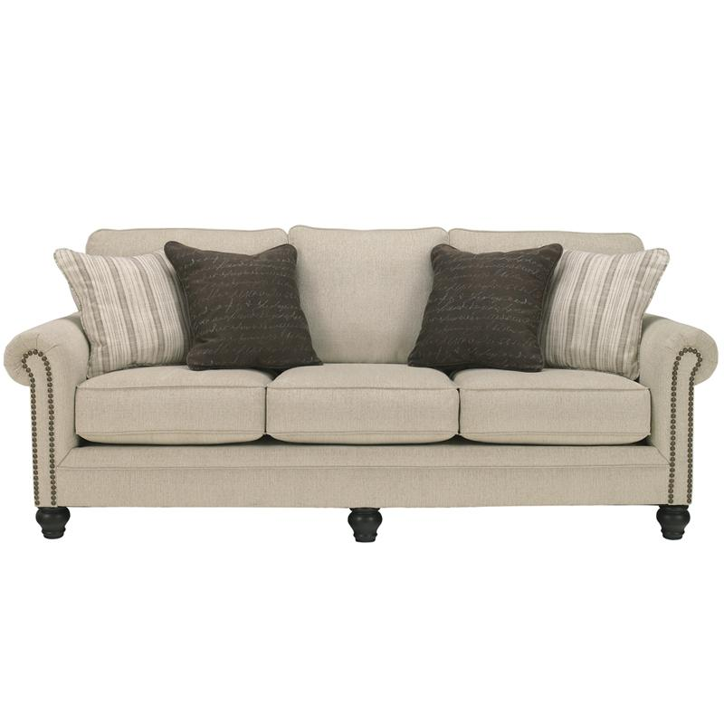Simmons Upholstery Bellamy Putty Sectional Udf491 Furniture