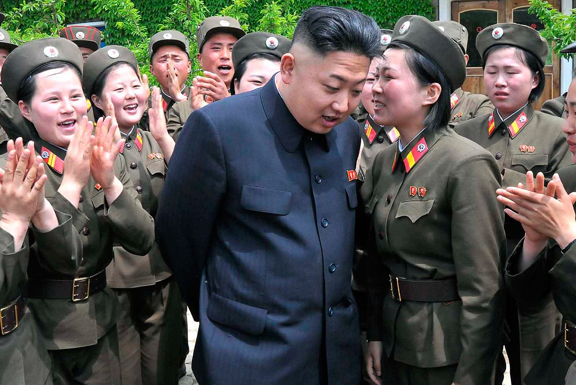 That North korea kim jong un women opinion