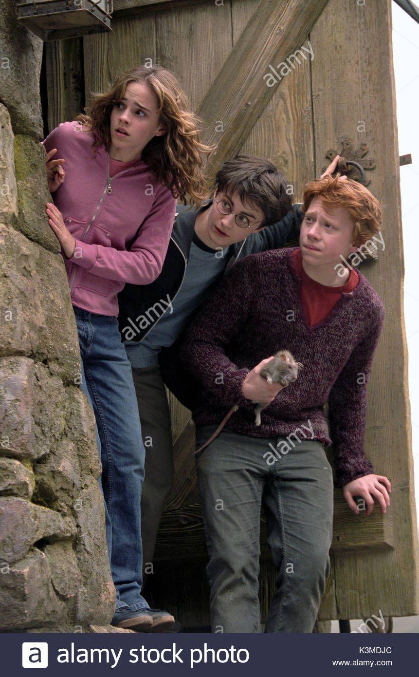 Laden Sie Dieses Alamy Stockfoto Harry Potter Und Der Gefangene Von Askaban Br Usa 2004 L R Em Der Gefangene Von Askaban Ron Weasley Harry Potter Gesicht