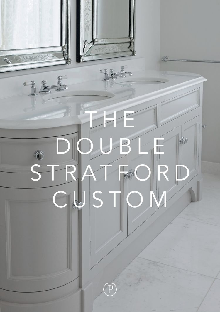 Custom Bathroom Vanities Montreal porter vanities double stratford custom | master bath | pinterest