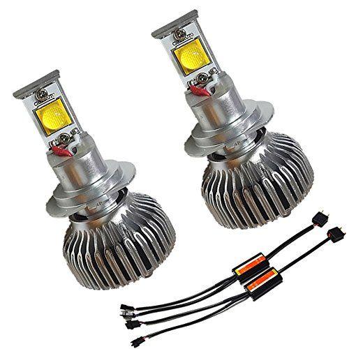 Xenon White LED Headlight Conversion Kit 2 PCS H7 6000K 21W LED Headlamp Bulbs-Replaces Halogen & HID Bulbs    http://www.amazon.com/dp/B00ZFAE8NK/ref=cm_sw_r_pi_dp_OpLKvb073H9RQ