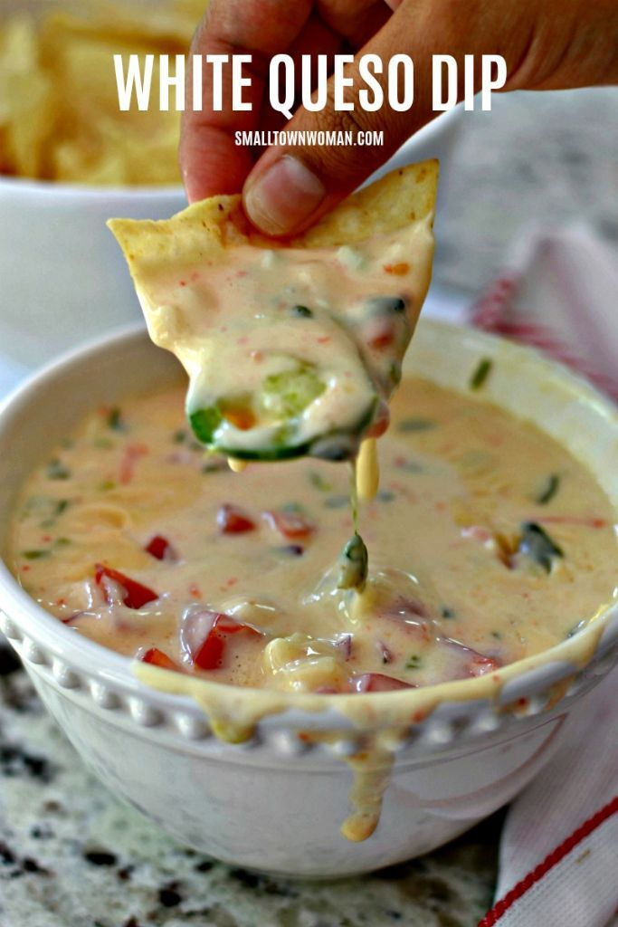White Queso Dip | Small Town Woman