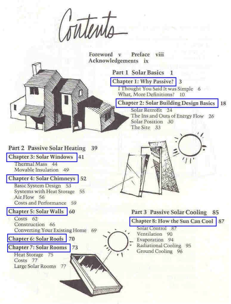 Free Downloadable Pdf S Passive Solar Energy The Homeowner S