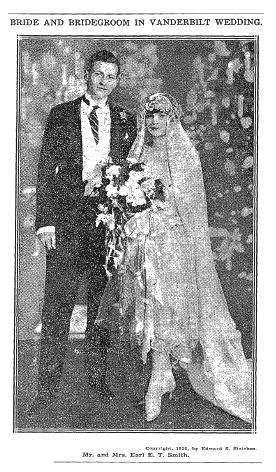 Miss Consuelo Vanderbilt Namesake Of Her Aunt The One