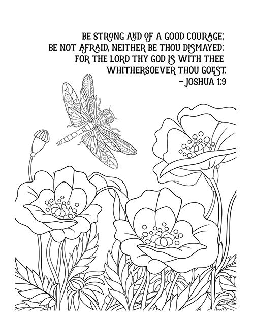 christian coloring pages with verses - photo #14