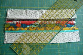 ******I need to start off by saying that there are probably other tutorials out there for piecing arrows, but this is what I did to make min...