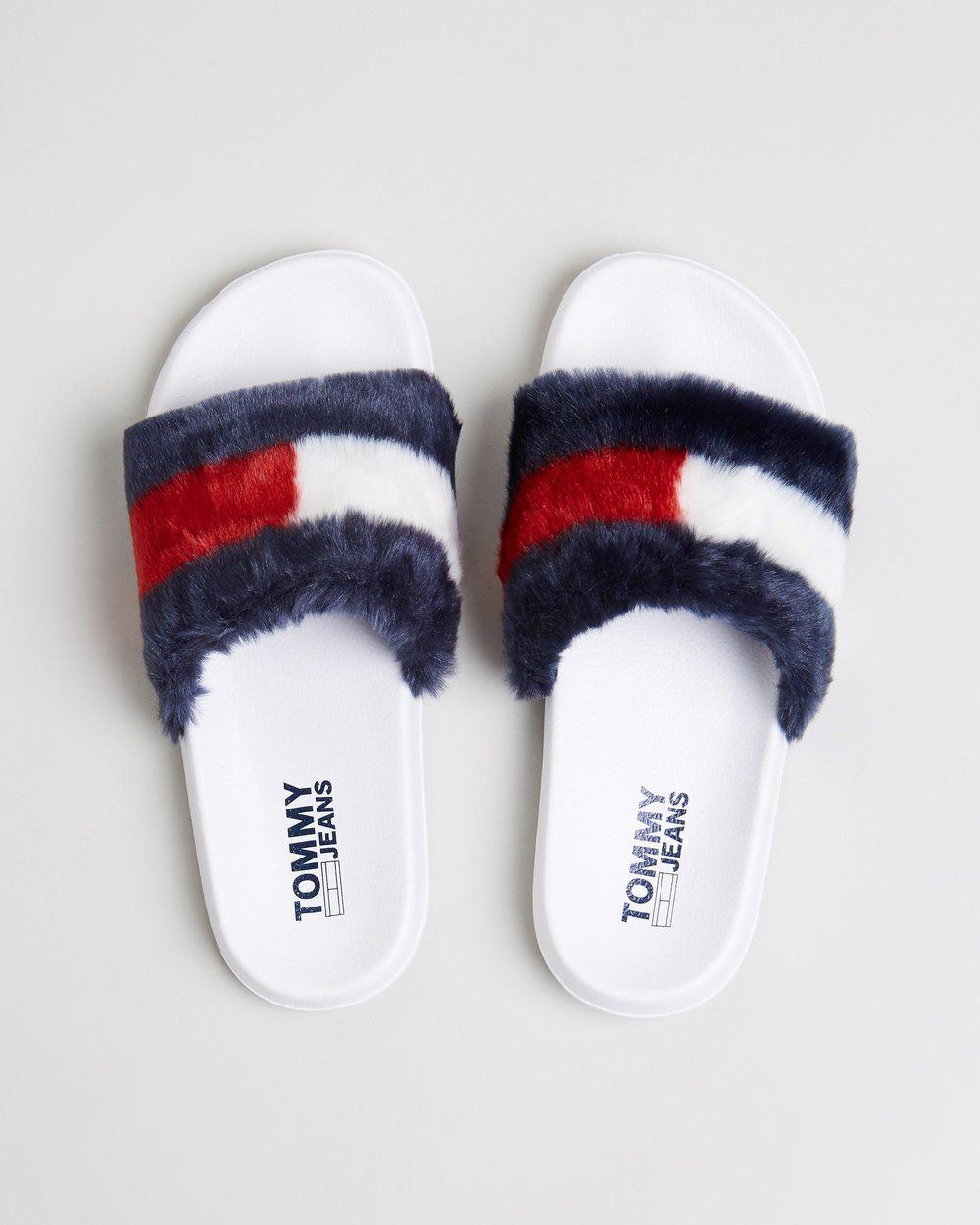 19a0a8d9f1 Buy Funny Fur Pool Slides - Women s by Tommy Hilfiger online at THE ICONIC.  Free