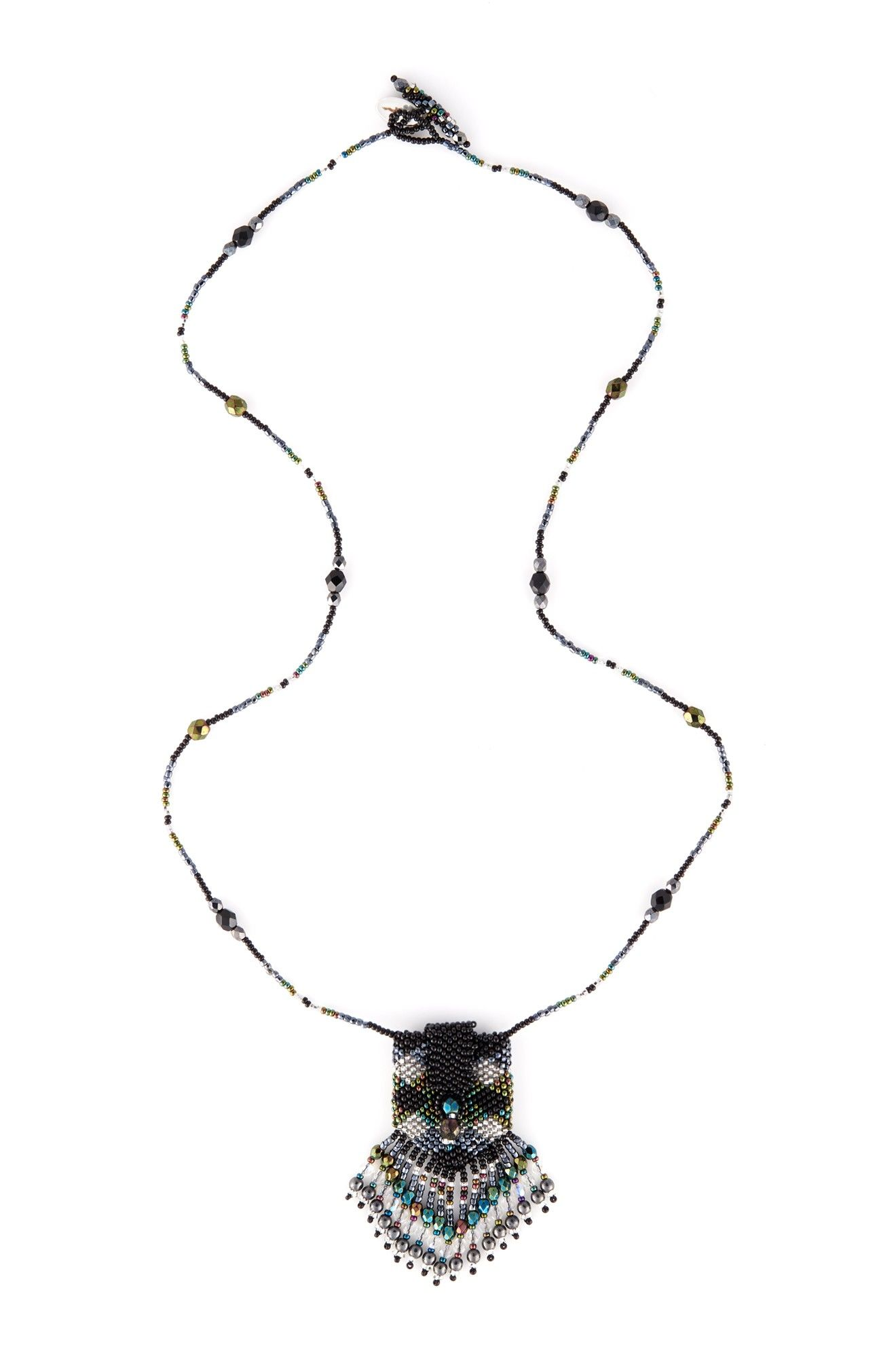 Beaded Pouch Necklace | Partywear | Sahara