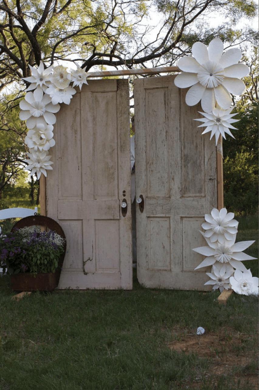 Murallas De Flores Manualidades Flores Pinterest
