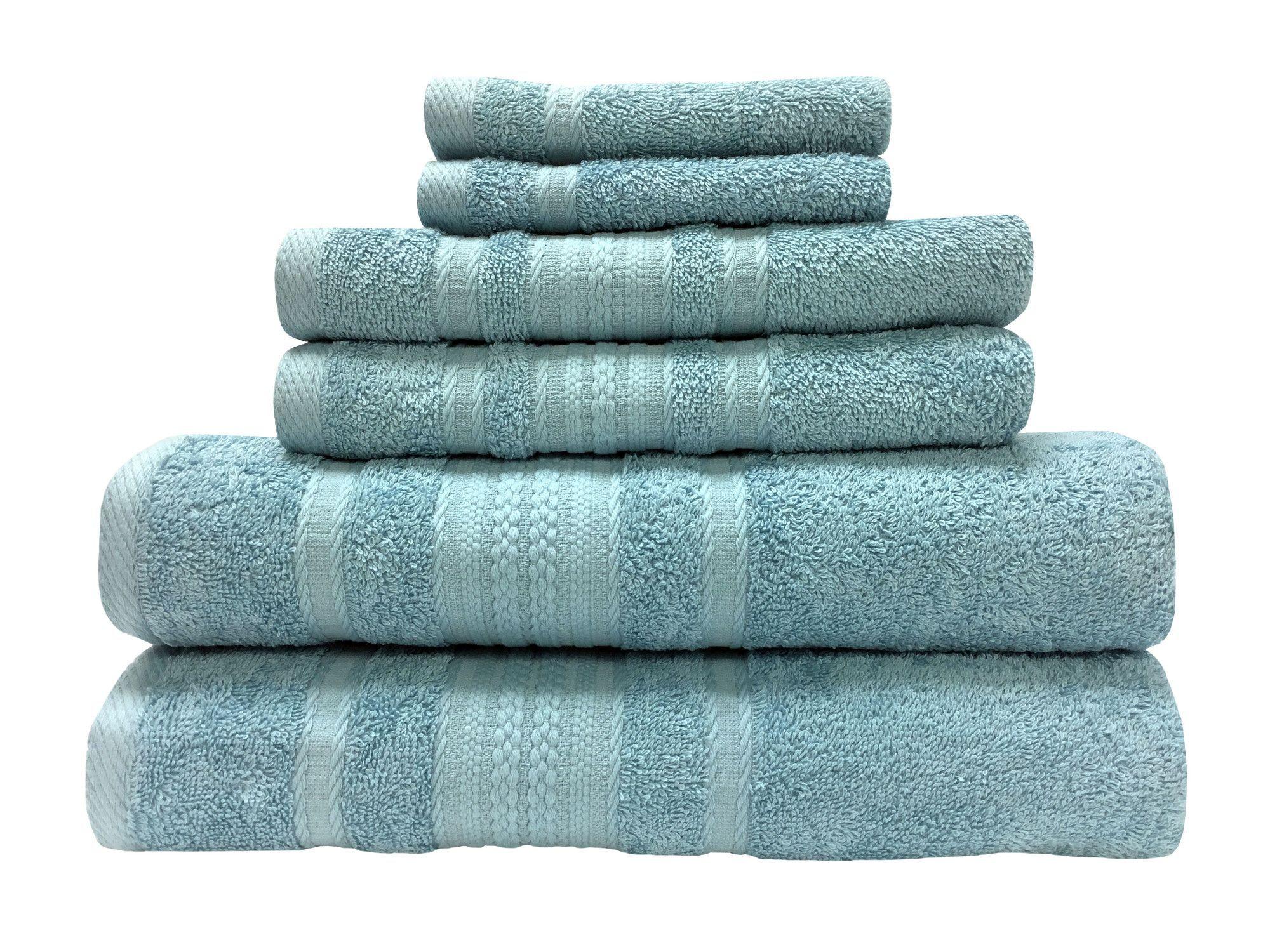 Mystique 6 Piece Towel Set