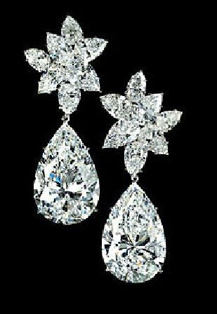 Pear Shaped Diamond Earrings By Jewelry Designer Graff Diamonds Jewellery Fashion Ideas Today
