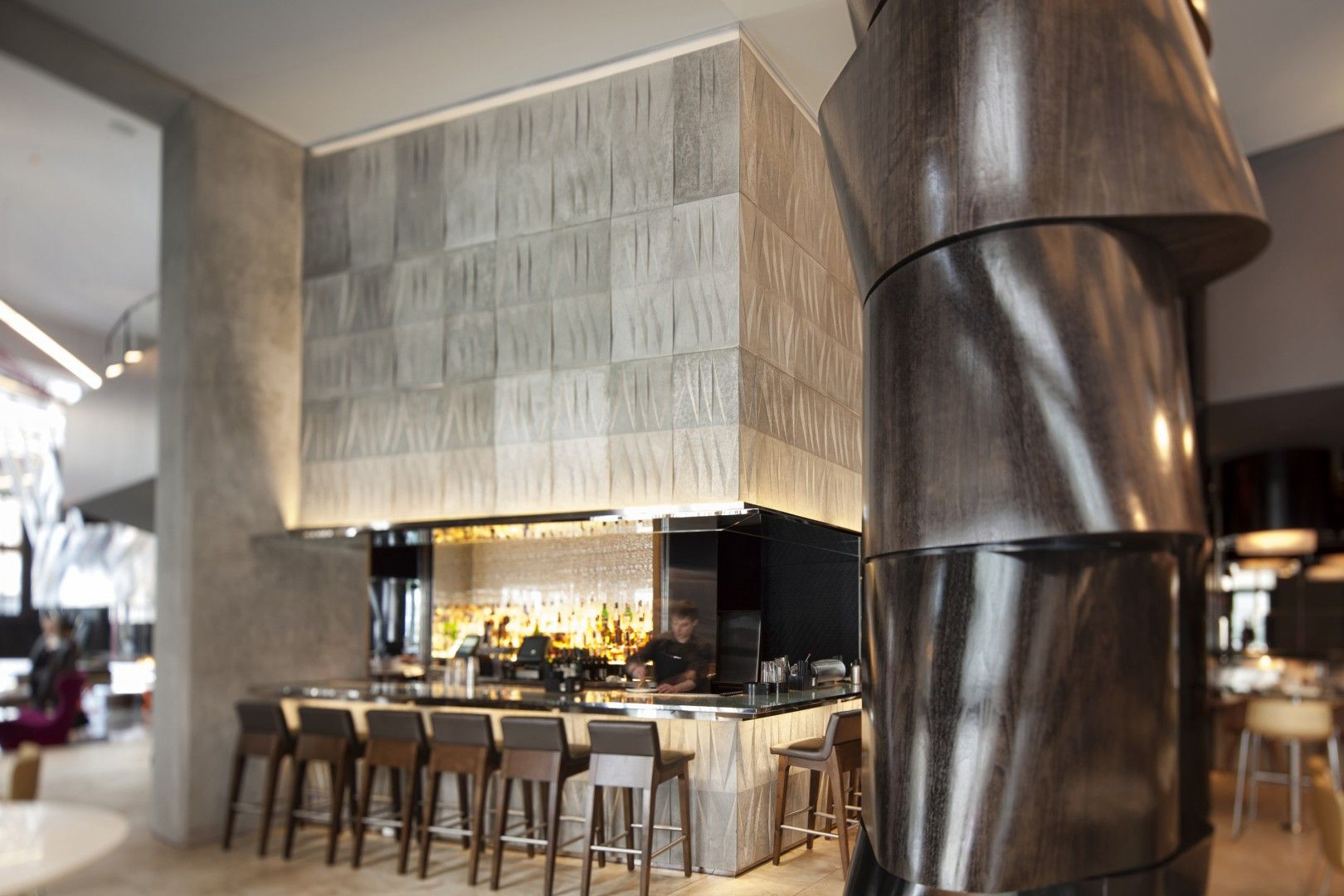 Dining in Style at the W Hotel Seattle. - Skylab Architecture See more details at & Dining in Style at the W Hotel Seattle. - Skylab Architecture See ...