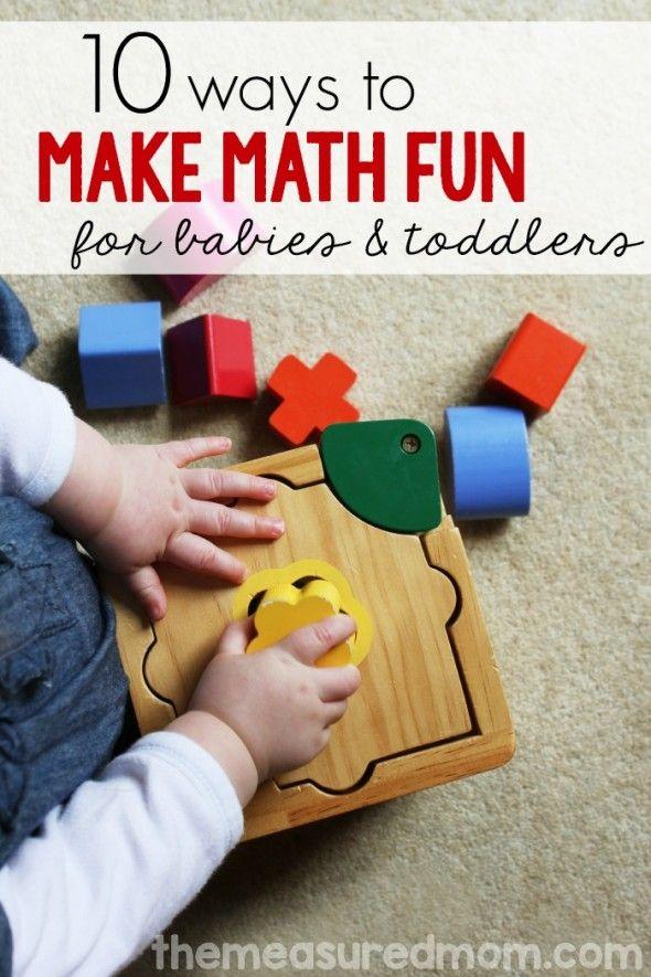 Baby Toddler Math Activities Math Activities Infant