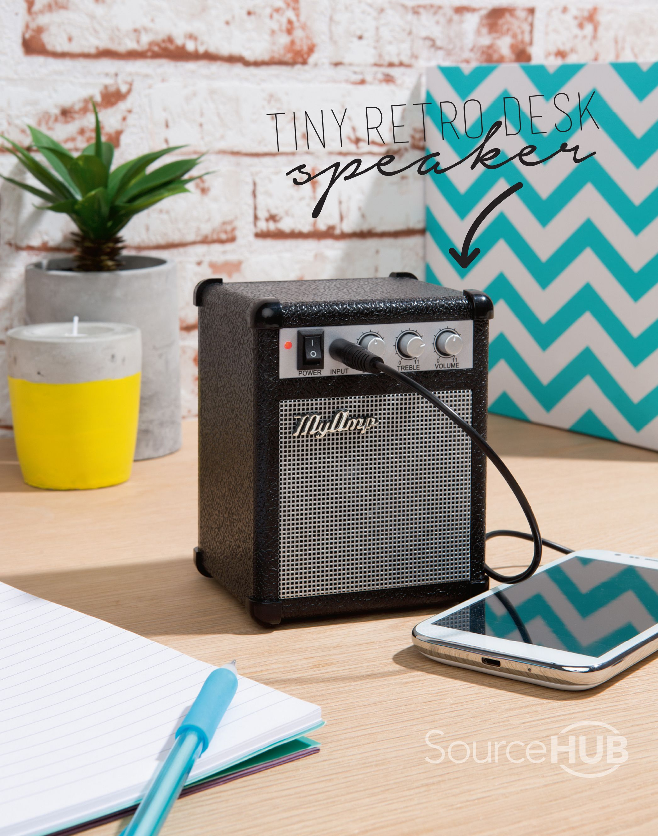 This tiny retro speaker is the cutest addition to your desk - Kmart, Australia.  - SourceHub group