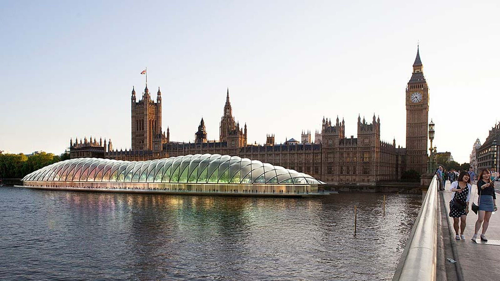 Westminster palace has to repaired, so parliament needs to go somewhere else. Gensler says their raft would save the project more than $2 billion.