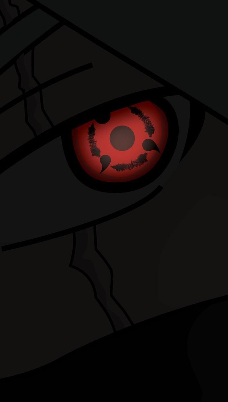This sharingan activates when you pick up your phone ...