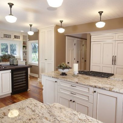 White Kitchen With Granite Countertops Design Ideas, Pictures ...