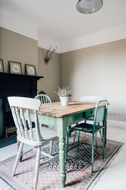 Rebeccau0027s Minimalist Period Home. Antique ChairsSitting RoomsVintage  FurniturePeriodMinimalistDining ...
