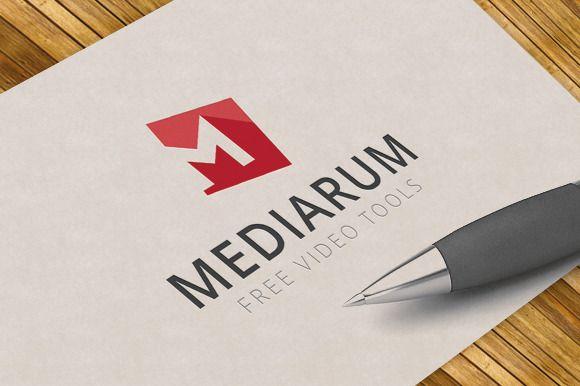 Letter M Logo Template By Survivor On Creative Market Design